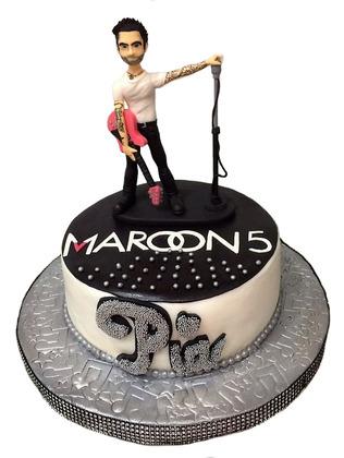 ArtTorta - Adam levine birthday cake